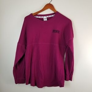 Victoria Secret Pink lightweight sweatshirt small